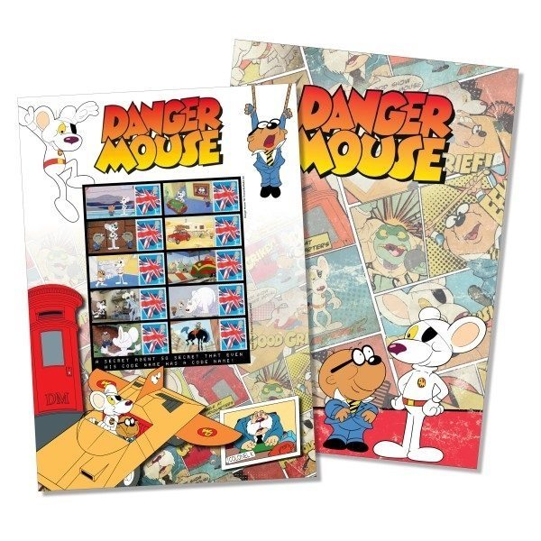 Danger Mouse Stamps