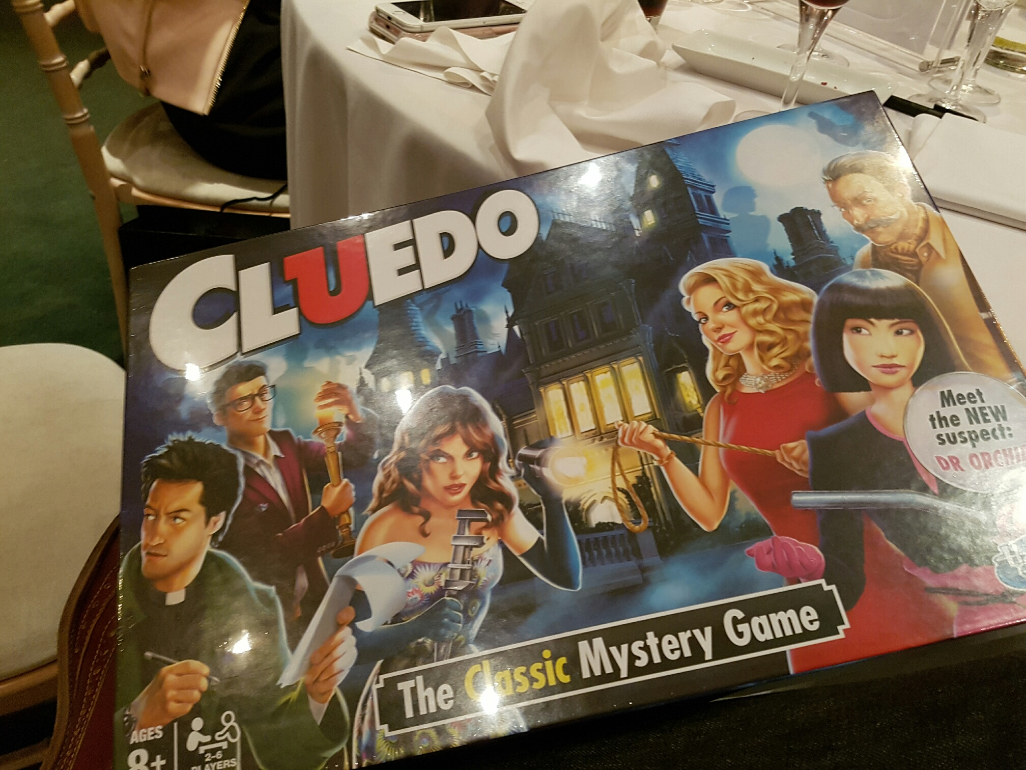 Cluedo Bard Game