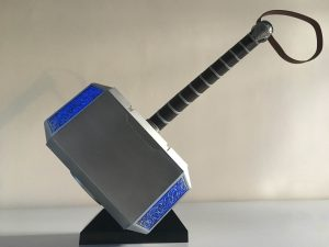 Mjolnir with lightning