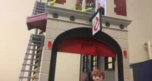 playmobil ghostbusters fire house