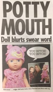 Potty Mouth doll