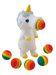 Unicorn squeeze poppers