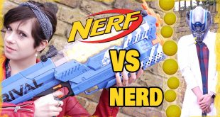 Nerf Nemesis in action