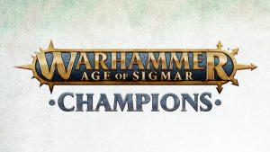 Warhammer Age of Sigmar Champions Game