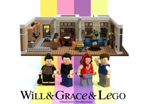 LEGO Will and Grace