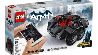 LEGO Batmobile in the box