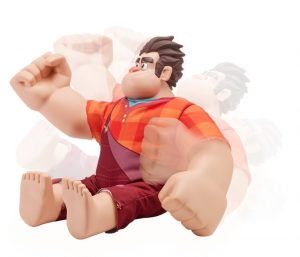 Bandai Wrecking Ralph action figure