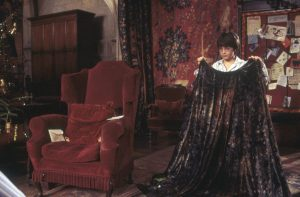 Harry Potter and his cloak
