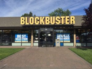 Blockbuster, Bend, Oregon
