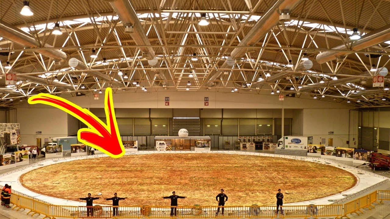 Image result for worlds largest pizza