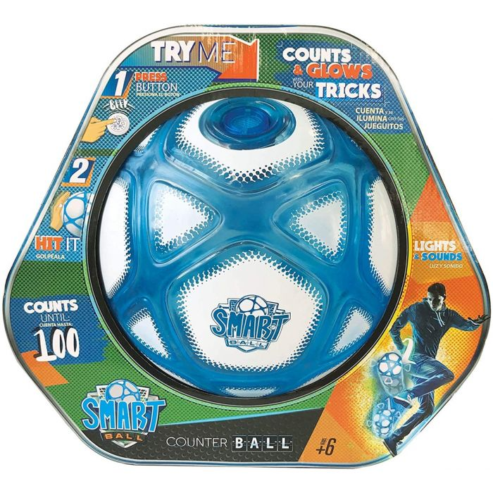 Smart Ball Counting Football with Closed Box SBCB1BGb by Golden Bear color White